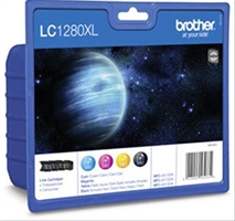 Brother Lc- 1280Xl Value Blister    . . .
