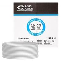 Cable De Red Nanocable Ethernet Rígido Rj45 Lszh . . .