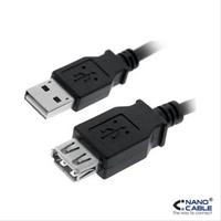 Cable Nanocable Usb 2. 0 A/ M -  A/ H . . .