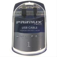 Cable Usb Am/ Microusb 1M Primux Blister