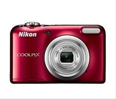 Cámara Nikon Coolpix A10 Roja +  Estuche