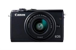 Cámara Canon Eos M100 24. 2Mp +  Ef- M 15- 45Mm Is Stm