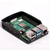 Carcasa Raspberry Pi 4B Gris/ Negra