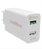 Cargador De Pared 2Xusb Coolbox . . .