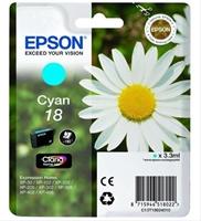 Cartucho De Tinta Epson Nº18 Cyan