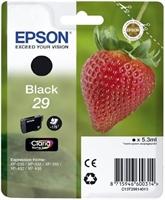 Cartucho De Tinta Epson Nº29 Negro