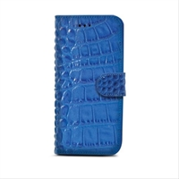 Celly Funda Wally Cocodrilo Azul Ip6