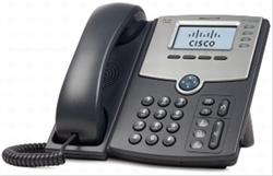 Cisco 4 Line Ip Phone W/ Display . . .