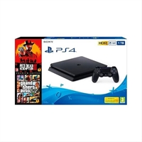 Consola Sony Ps4 1Tb + Rdr2+ Gta V . . .