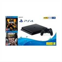Consola Sony Ps4 1Tb +  Cod Black . . .