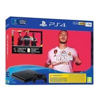 Sony Ps4 Slim 1Tb Negra +  Fifa 20 Ultimate Team +  . . .