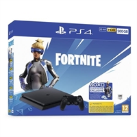 Ps4 Slim 500Gb Negra Fortnite . . .