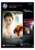 Hp Premium Plus Photo Paper        Semi- Gloss 20 Sheet