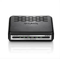 D- Link 5- Port 10/ 100/ 1000Mbps Copper Gigabit