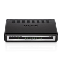 D- Link 8- Port 10/ 100/ 1000Mbps Copper Gigabit