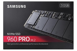 Disco Duro Sólido Samsung 960 Pro 512Gb Ssd M. 2