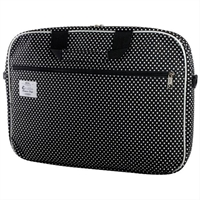 E- Vitta Style Laptop Bag 16  Dots