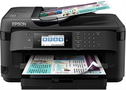Epson Wf- 7710Dwf Multifunction Inkjet 4In1 A3+