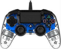 Gamepad Nacon Ps4 Cristal Azul