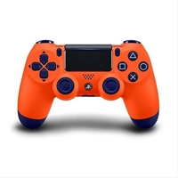 Gamepad Sony Ps4 Dualshock Naranja . . .