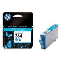 Hp Ink Cartridge No 364 Cyan With . . .