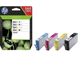 Hp Ink Cartridge No 364Xl B/ C/ M/ Y  . . .