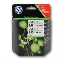 Hp Ink/ 950Xl Black/ 951Xl Cy/ Mag/ Ye . . .