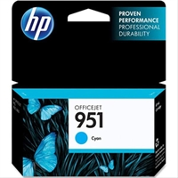 Hp Ink/ 951 Cyan Officejet Cartridge