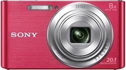 Sony Camara W830 Pink+ Case+ Sd 8Gb