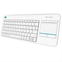 Logitech Wireless Touch Keyboard         K400 . . .