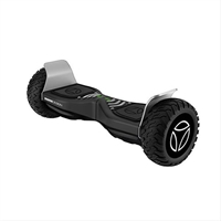 Hoverboard Momo Dakar Negro/ Blanco