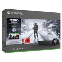 Microsoft Xbox One X +   Metro . . .