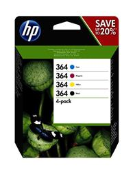 Hp Ink Cartridge No 364 B/ C/ M/ Y    . . .