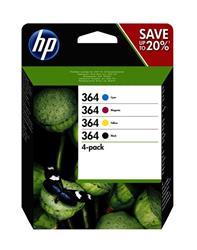 Hp Ink Cartridge No 364 B/ C/ M/ Y    . . .