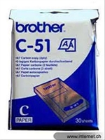 Papel Termico Brother 30 Hojas A7