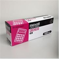 Pila Alcalina De Botón Maxell Cr2032 3V 5 Unidades