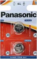 Pila Litio Panasonic Cr2032 5Uds
