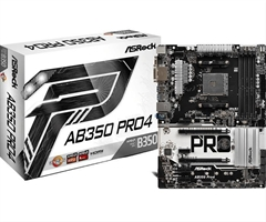 Placa Base Asrock Ab350- Pro 4 Socket Am4 Ddr4
