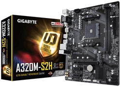 Placa Base Gigabyte A320m S2h Am4 . . .