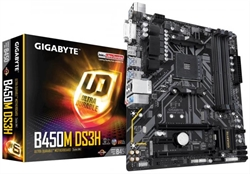 Placa Base Gigabyte B450m Ds3h . . .