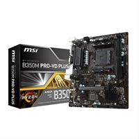 Placa Base Msi B350m Pro- Vd Plus . . .