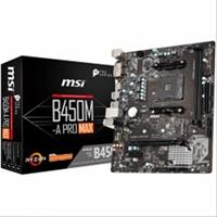 Placa Base Msi B450m- A Pro Max Am4