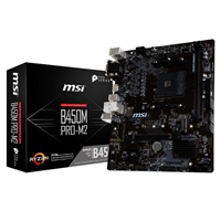 Placa Base Msi B450m Pro- M2 Am4 Matx 2Xddr4