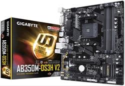 Placa Base Gigabyte Ab350m- Ds3h V2 Am4