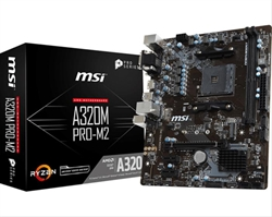 Placa Base Msi A320m Pro- M2 Socket Am4