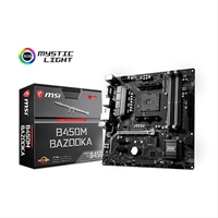 Placa Base Msi B450m Bazooka Socket Am4
