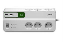 Apc Surge 6 Outlets+ 5V 2. 4A 2Usb C . . .