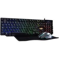 Power Case Kit Gaming Deepteam Keyboard +   Mouse . . .