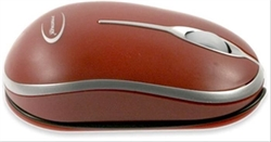 Ratón Primux R1 Óptico Usb Rojo . . .