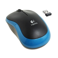 Ratón Logitech Wireless M185 Azul